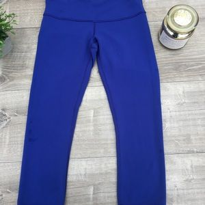 Blue Reversible Lululemon Leggings